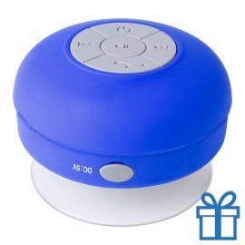 Waterdichte bluetooth speaker blauw bedrukken