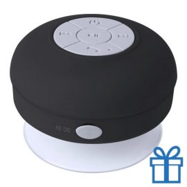 Waterdichte bluetooth speaker zwart bedrukken