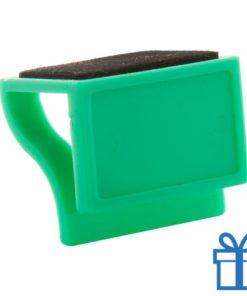 Webcam cover doming groen bedrukken