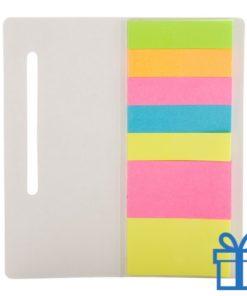 Zelfklevend notitieblok papieren cover bedrukken