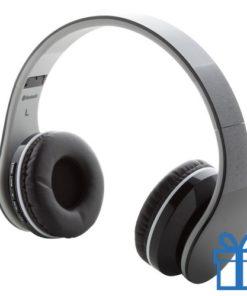 bluetooth hoofdtelefoon inklapbaar zwart bedrukken