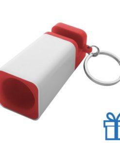iPhone® 5, 5s, 6, 6s houder goedkoop rood bedrukken