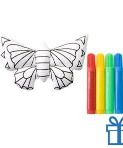 3D kleurset vlinder bedrukken