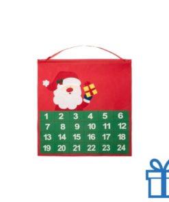 Advent kalender 24 zakjes bedrukken