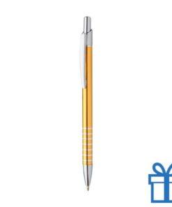 Alu pen ringen grip goud geel