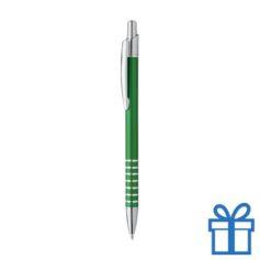 Alu pen ringen grip groen