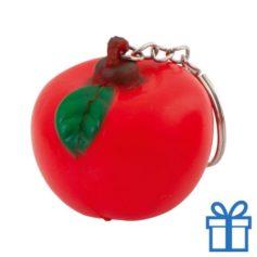 Anti stress sleutelhanger appel bedrukken