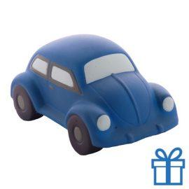 Antistress auto blauw bedrukken