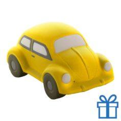 Antistress auto geel bedrukken