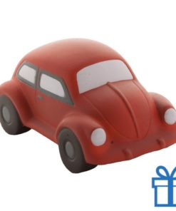 Antistress auto rood bedrukken