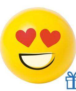 Antistress bal emoji verliefd bedrukken
