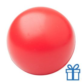 Antistress bal rond rood bedrukken