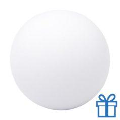 Antistress bal rond wit bedrukken