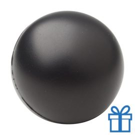Antistress bal rond zwart bedrukken