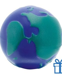 Antistress bal wereld bedrukken