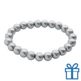 Armband dames grijs bedrukken