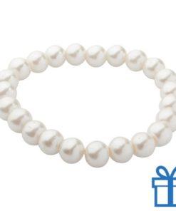 Armband dames wit bedrukken