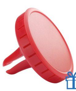 Auto luchtverfrisser limoen rood bedrukken