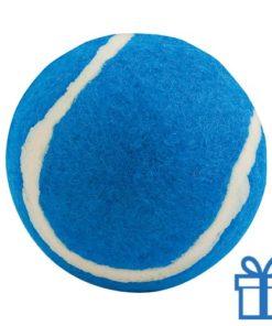 Bal voor de hond blauw bedrukken