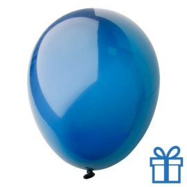 Ballon crystal kleuren bedrukken op aanvraag! Blauw bedrukken