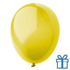Ballon crystal kleuren bedrukken op aanvraag! Geel bedrukken