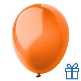 Ballon crystal kleuren bedrukken op aanvraag! Oranje bedrukken