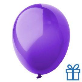 Ballon crystal kleuren bedrukken op aanvraag! Paars bedrukken