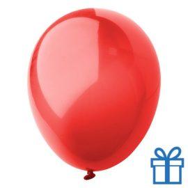 Ballon crystal kleuren bedrukken op aanvraag! Rood bedrukken