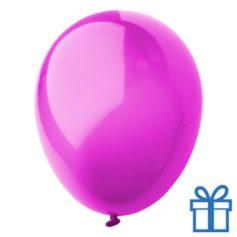 Ballon crystal kleuren bedrukken op aanvraag! Roze bedrukken