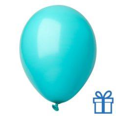 Ballon pastel kleuren bedrukken op aanvraag! Aqua bedrukken
