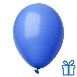 Ballon pastel kleuren bedrukken op aanvraag! Blauw bedrukken
