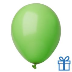 Ballon pastel kleuren bedrukken op aanvraag! Donkergroen bedrukken