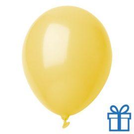 Ballon pastel kleuren bedrukken op aanvraag! Geel bedrukken
