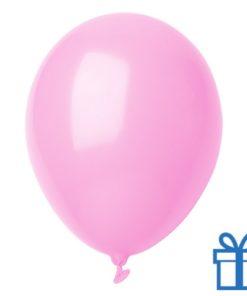 Ballon pastel kleuren bedrukken op aanvraag! Lichtroze bedrukken