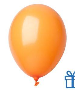 Ballon pastel kleuren bedrukken op aanvraag! Oranje bedrukken