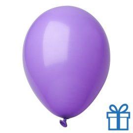 Ballon pastel kleuren bedrukken op aanvraag! Paars bedrukken