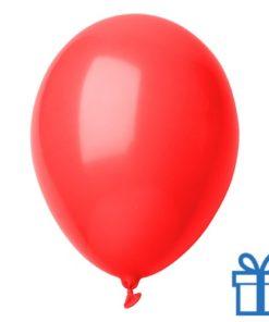Ballon pastel kleuren bedrukken op aanvraag! Rood bedrukken