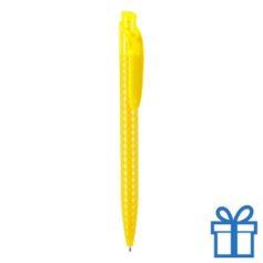 Balpen goedkoop bedrukken geel