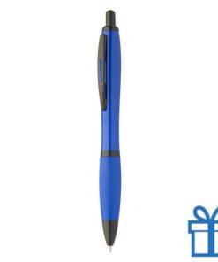 Balpen zwartaccenten blauw