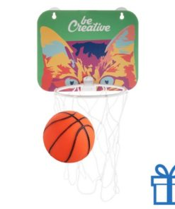 Basketball basket bedrukken