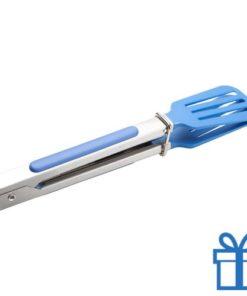 Bbq spatel blauw bedrukken