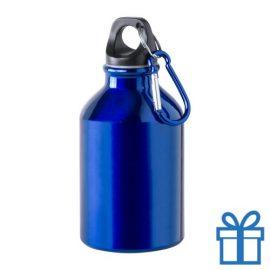 Bidon 300ml aluminium blauw bedrukken