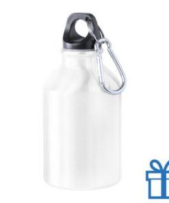 Bidon 300ml aluminium wit bedrukken