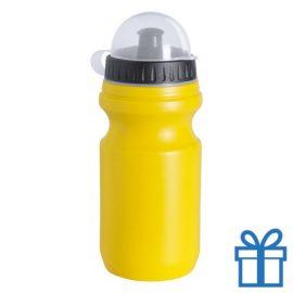 Bidon 550ml voordelig geel bedrukken
