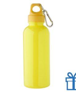 Bidon 600ml goedkoop geel bedrukken