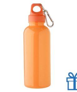 Bidon 600ml goedkoop oranje bedrukken