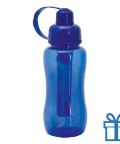 Bidon koeling element 600ml blauw bedrukken