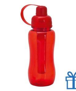Bidon koeling element 600ml rood bedrukken