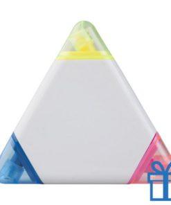 Drie delige marker driehoek