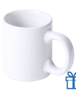 Espresso mok wit bedrukken